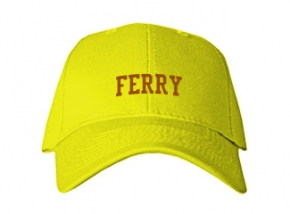 Ferry Elementary School Kid Embroidered Baseball Caps