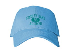 Findley Oaks Elementary School Embroidered Baseball Caps