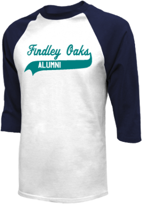 Findley Oaks Elementary School Raglan Shirts