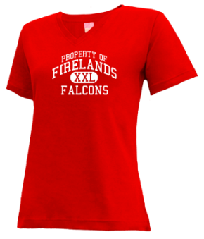 Firelands Elementary School V-neck Shirts