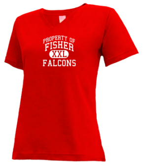 Fisher Elementary School V-neck Shirts