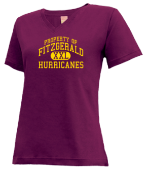 Fitzgerald High School V-neck Shirts
