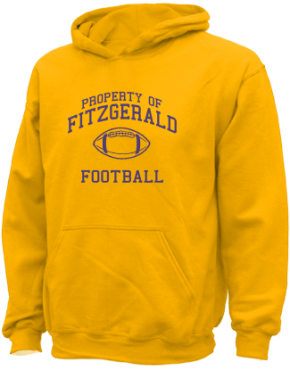 Fitzgerald High School Kid Hooded Sweatshirts