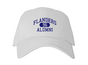 Flanders Elementary School Embroidered Baseball Caps