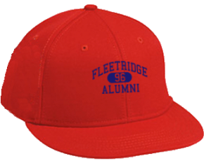 Fleetridge Elementary School Flat Visor Caps