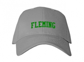 Fleming High School Kid Embroidered Baseball Caps