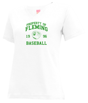Fleming High School V-neck Shirts