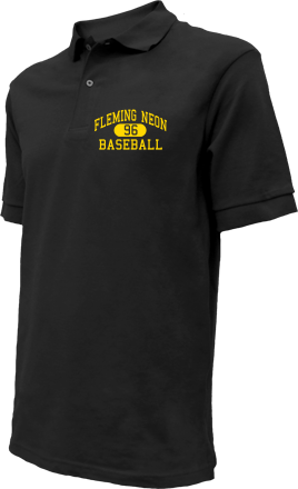 Fleming Neon High School Embroidered Polo Shirts