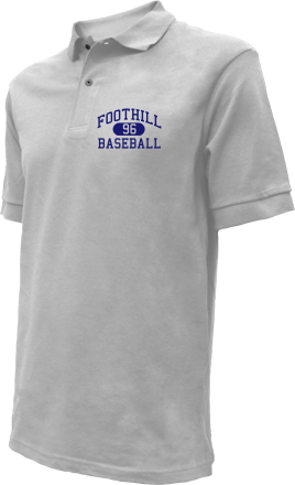 Foothill High School Embroidered Polo Shirts