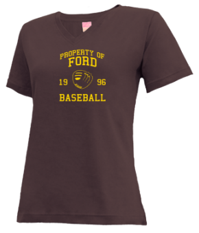 Ford High School V-neck Shirts