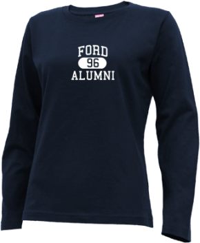 Ford Middle School Long Sleeve Shirts