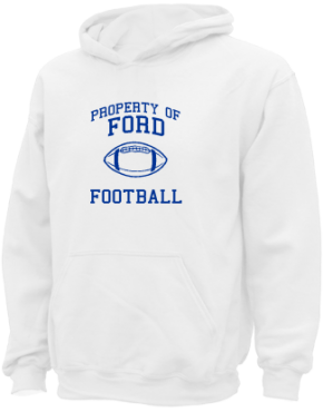 Ford Middle School Kid Hooded Sweatshirts