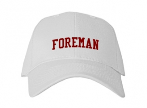 Foreman High School Kid Embroidered Baseball Caps