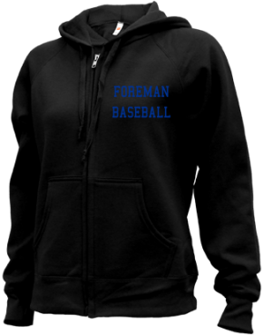 Foreman High School Zip-up Hoodies