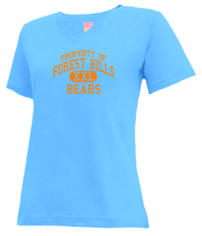 Forest Hills Elementary School V-neck Shirts