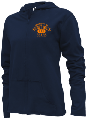 Forest Hills Elementary School Girls Zipper Hoodies