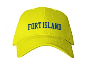 Fort Island Primary School Kid Embroidered Baseball Caps