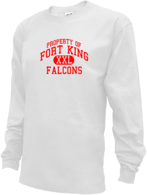 Fort King Middle School Kid Long Sleeve Shirts