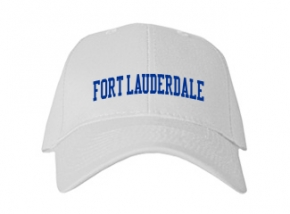 Fort Lauderdale High School Kid Embroidered Baseball Caps