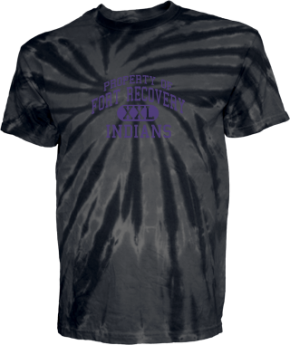 Fort Recovery Elementary Middle School Kid Tie-dye T-Shirts