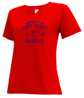 Fort Scott High School V-neck Shirts