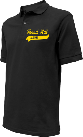 Fossil Hill Middle School Embroidered Polo Shirts