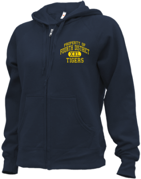 Fourth District Elementary School Zip-up Hoodies