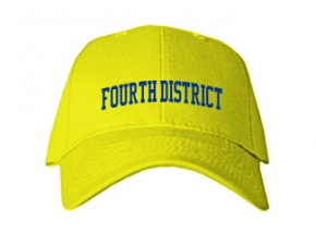 Fourth District Elementary School Kid Embroidered Baseball Caps