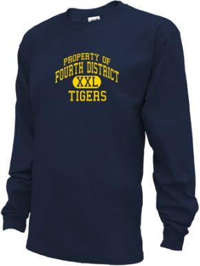 Fourth District Elementary School Kid Long Sleeve Shirts