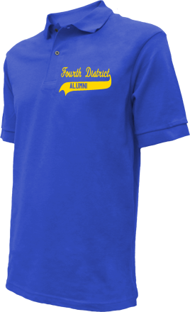 Fourth District Elementary School Embroidered Polo Shirts