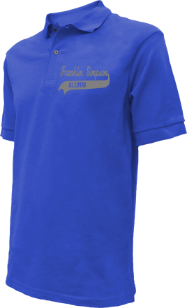 Franklin-simpson Middle School Embroidered Polo Shirts