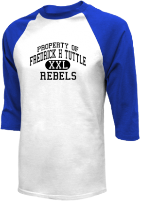 Fredrick H Tuttle Middle School Raglan Shirts