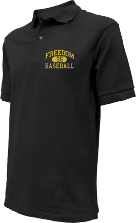 Freedom High School Embroidered Polo Shirts