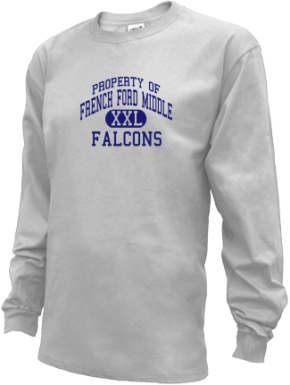 French Ford Middle School Kid Long Sleeve Shirts