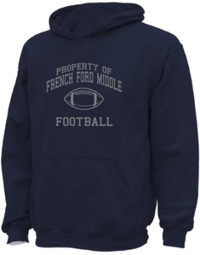 French Ford Middle School Kid Hooded Sweatshirts