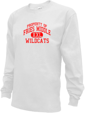 Fries Middle School Kid Long Sleeve Shirts