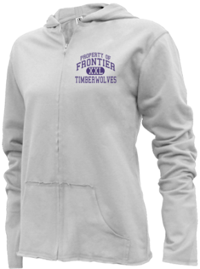 Frontier Middle School Girls Zipper Hoodies