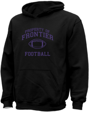 Frontier Middle School Kid Hooded Sweatshirts