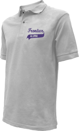 Frontier Middle School Embroidered Polo Shirts