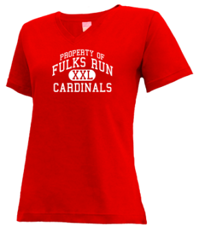 Fulks Run Elementary School V-neck Shirts