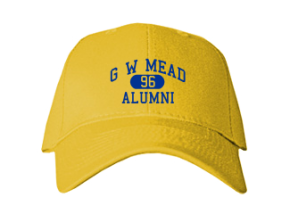 G W Mead Elementary School Embroidered Baseball Caps