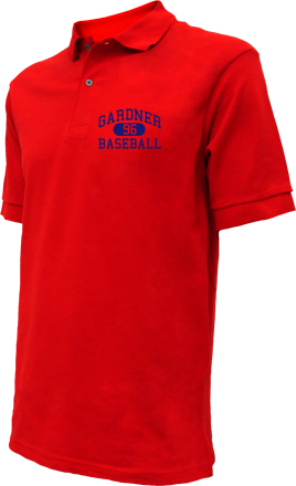 Gardner High School Embroidered Polo Shirts