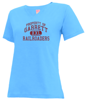 Garrett High School V-neck Shirts