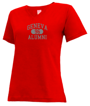 Geneva High School V-neck Shirts