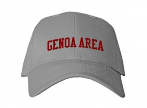Genoa Area High School Kid Embroidered Baseball Caps