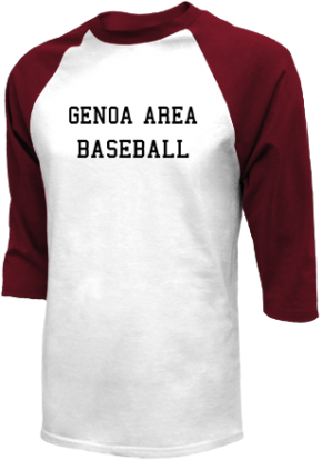 Genoa Area High School Raglan Shirts