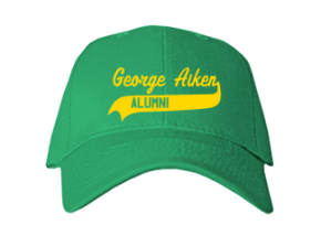 George Aiken Elementary School Embroidered Baseball Caps
