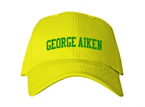 George Aiken Elementary School Kid Embroidered Baseball Caps