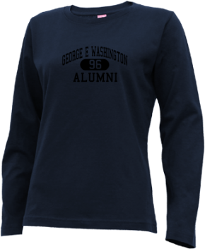 George E Washington Elementary School Long Sleeve Shirts