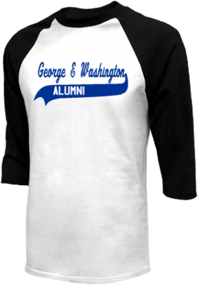 George E Washington Elementary School Raglan Shirts